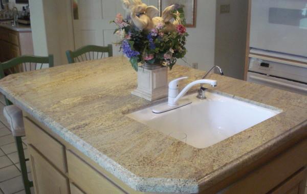 Island Granite Countertop